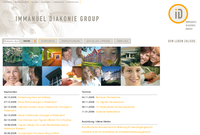 Relaunch der Website der Immanuel Diakonie Group