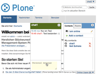 XMPP-Integration in Plone